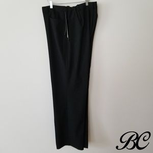 NWT Ralph Lauren Pants Black Adelle Slim Straight